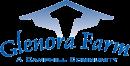 Glenora Farm logo in blue